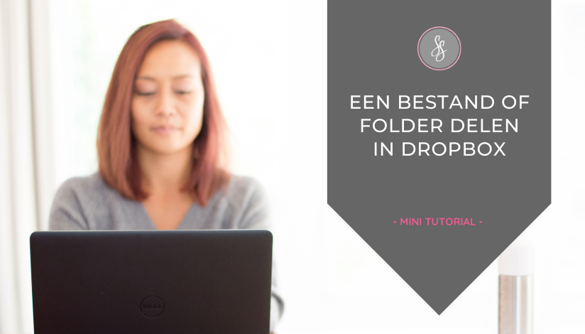 Tutorial - Bestand of folder delen in Dropbox